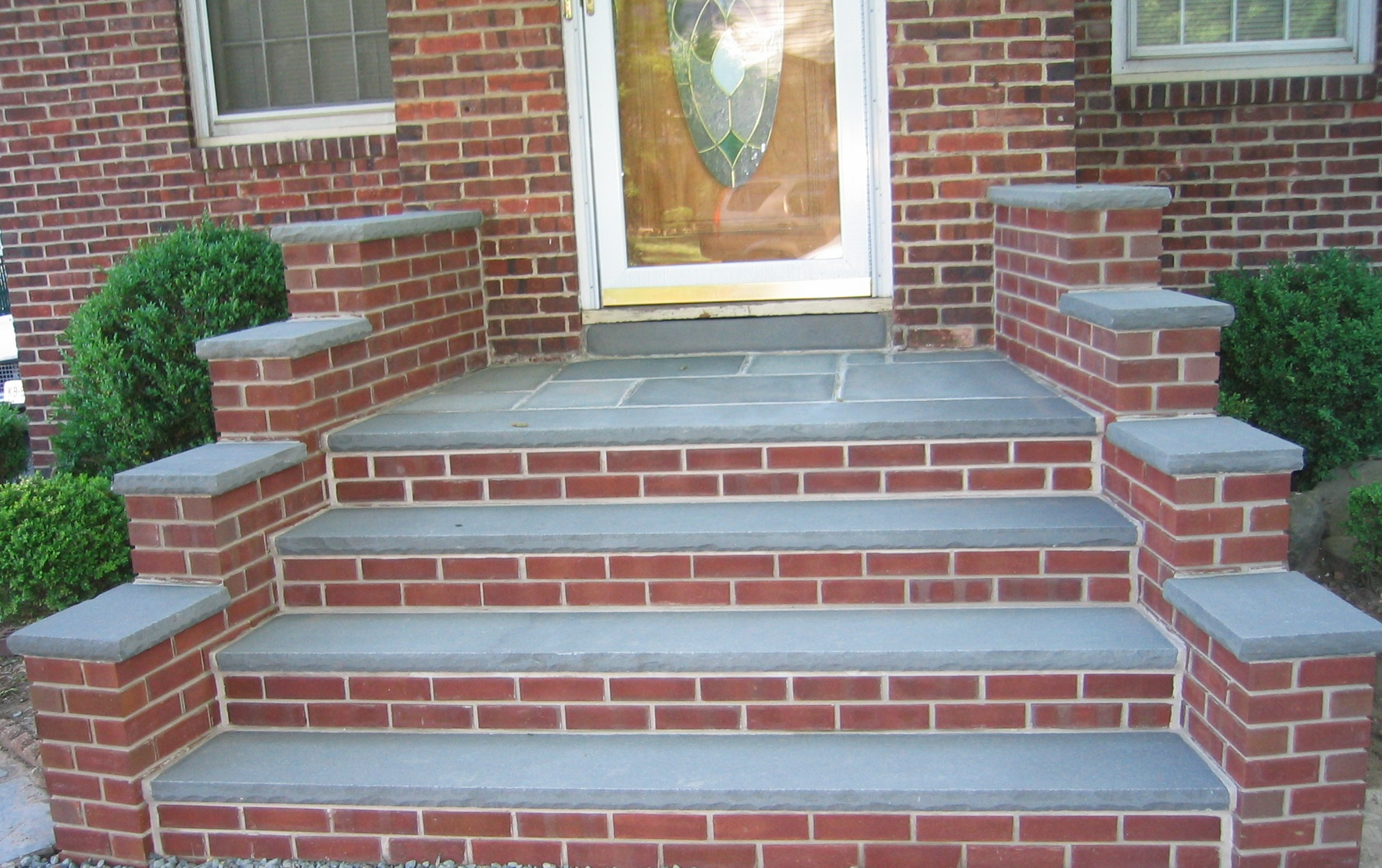 Bluestone Walkway To Front Door